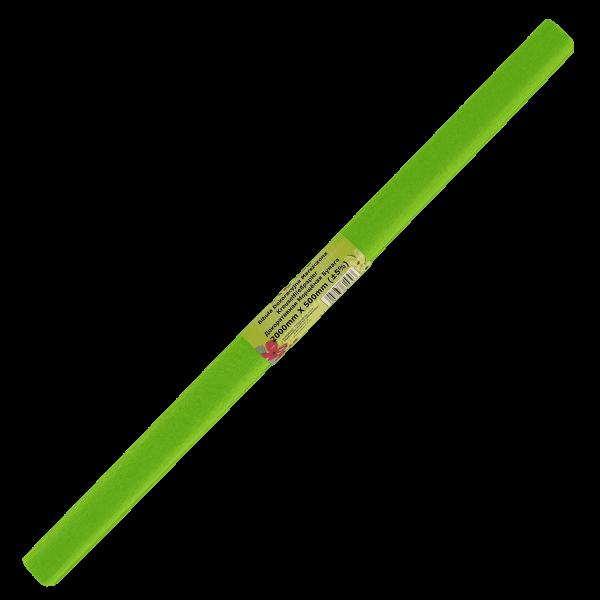 Бумага креп зеленая