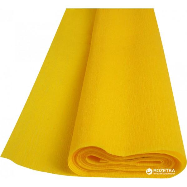 Бумага креп желтая Herli...