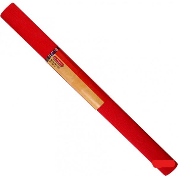 Бумага креп красная Her...