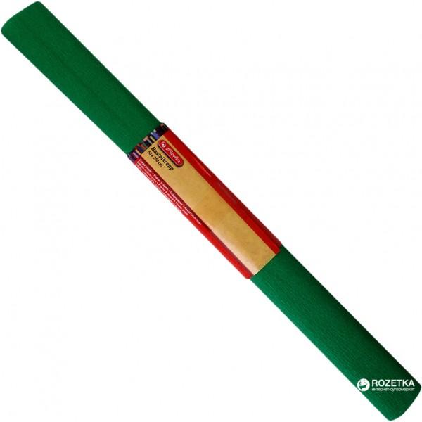 Бумага креп зеленая Her...