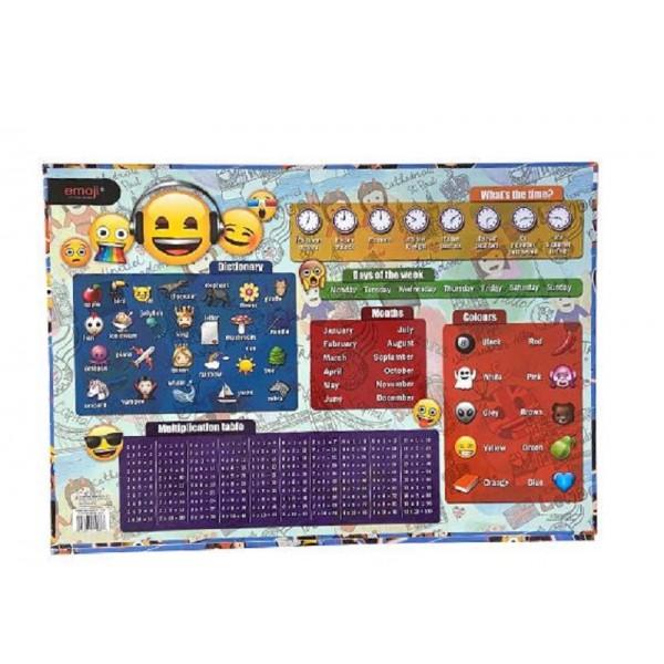 "Коврик для стола 55х38см ""Emoji"" Bambino"