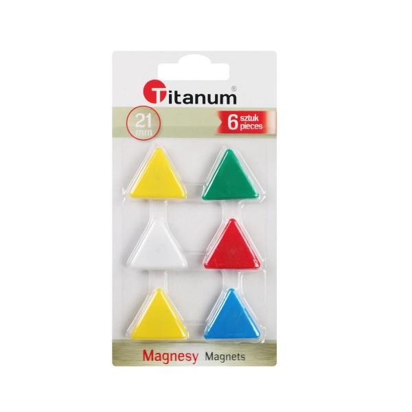 """Магнит """"Треугольник"""" Titanum"""
