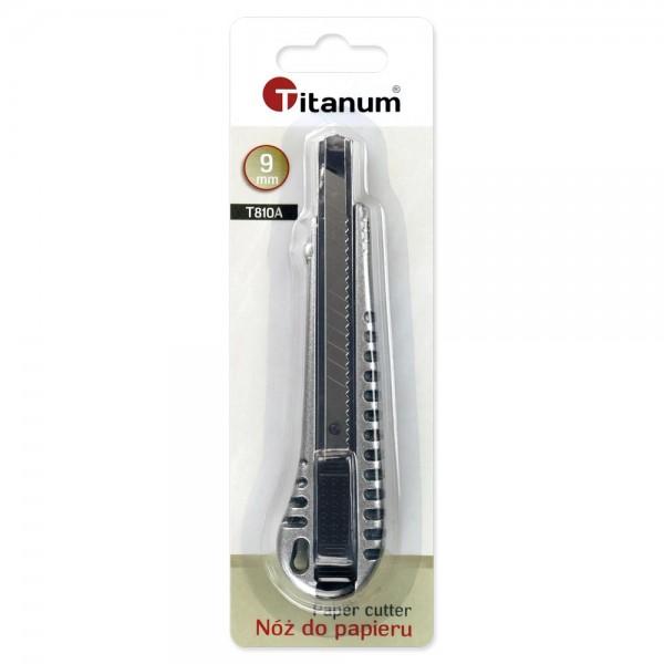 Нож 9мм Titanum алюминиевый