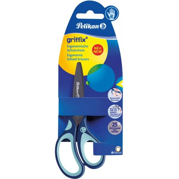 Ножницы 14 см Griffix Pelikan