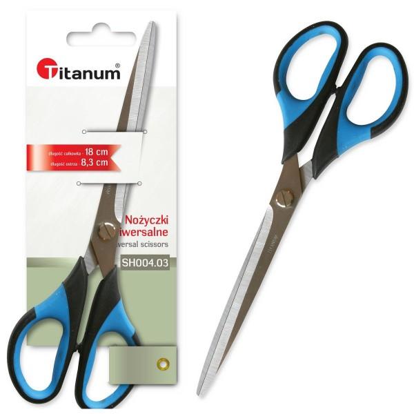 Ножницы 18 см Titanum