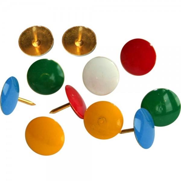 Кнопки цветные Titanum