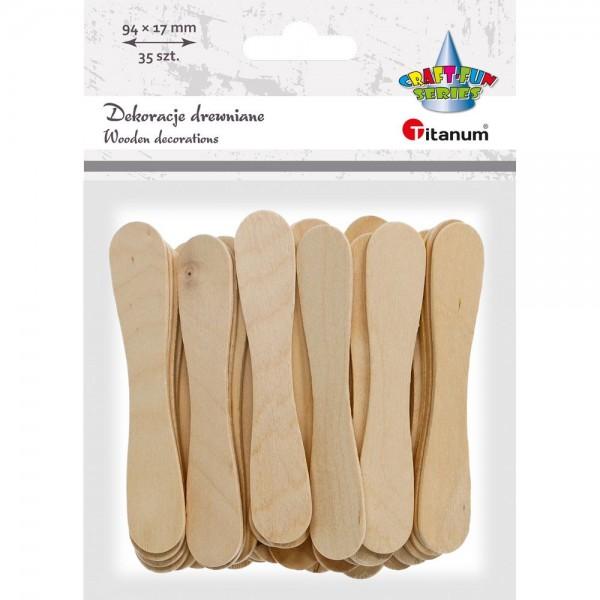 Палочки деревянные 94х17мм Titanum