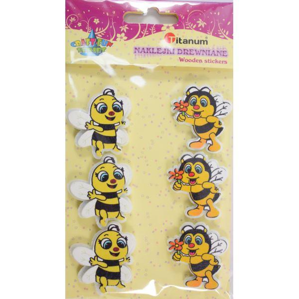 """Наклейки """"Пчелки"""" дерево Titanum"""