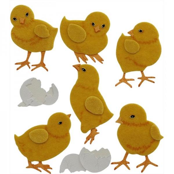 "Наклейки ""Цыплята"" Titanum"