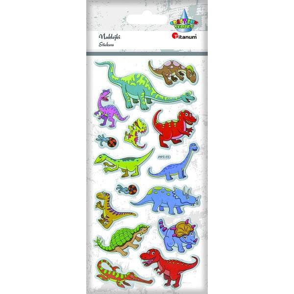 """Наклейки """"Динозавры"""" Titanum"""