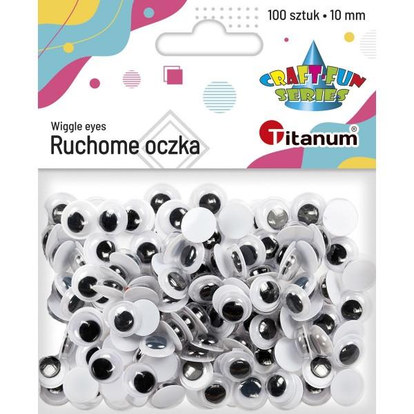 Глазки 10 мм Titanum