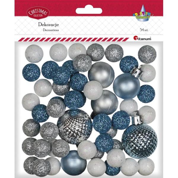 Новогодние шары Titanum