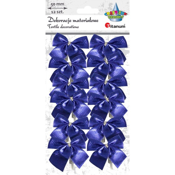Бантики синие Titanum