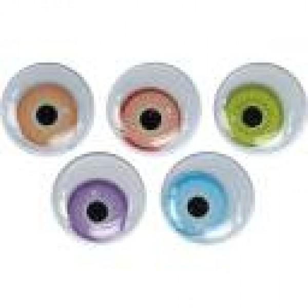 Глазки 15мм цветные Titanum