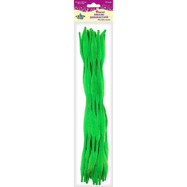 Стебли синели 0,6х30см зеленая Titanum