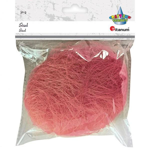 Сизаль розовая Titanum