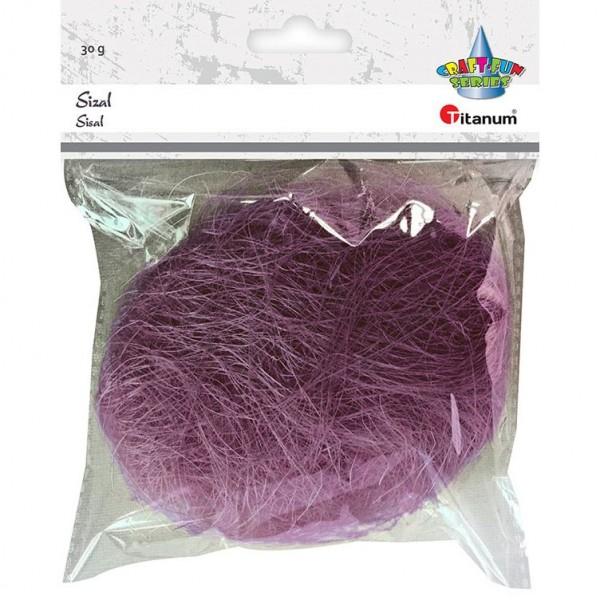 Сизаль фиолетовая Titanu...