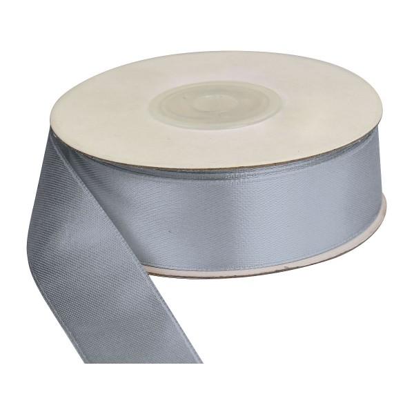 Лента (25ммх25м) серебро Titanum