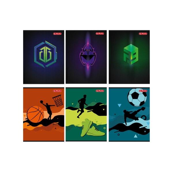 тетрадь А5/32л. Games&Sport...