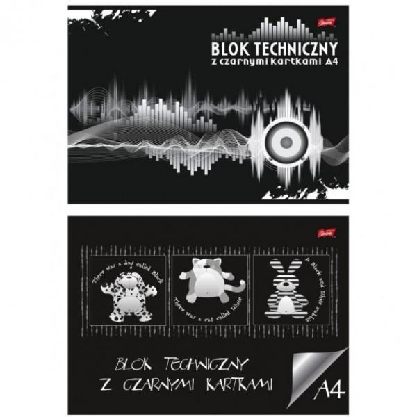 Альбом черного картона А4 Majewski