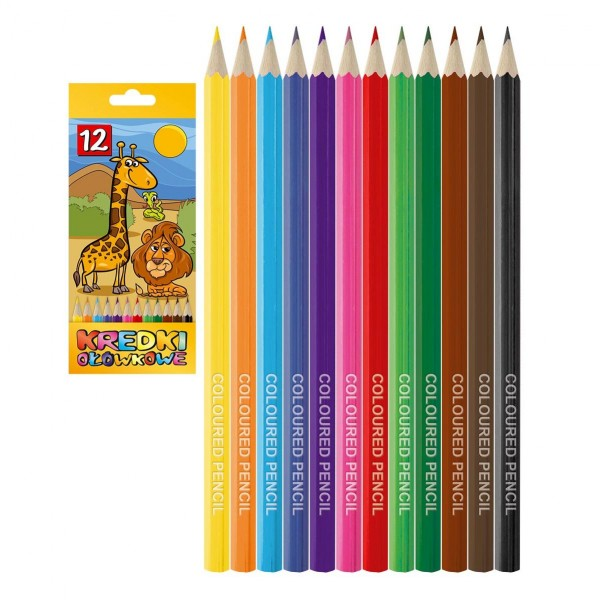карандаши цветные 12 ц�...