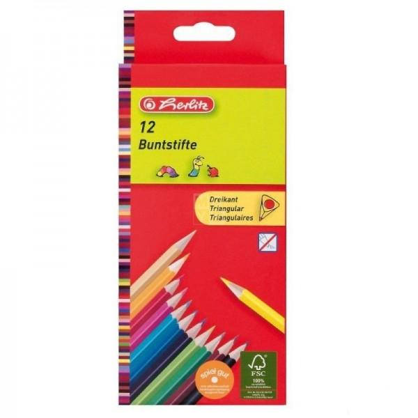 карандаши цветные Triang...