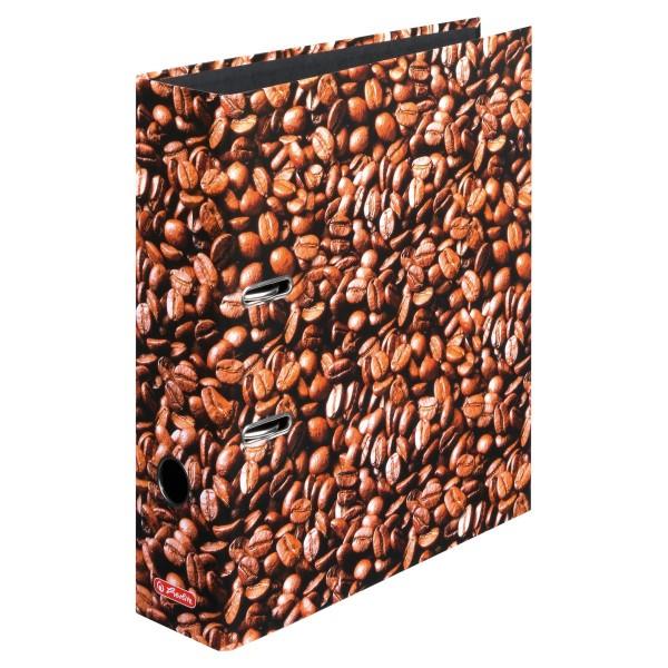 регистр А4/8см  Coffee Herlitz