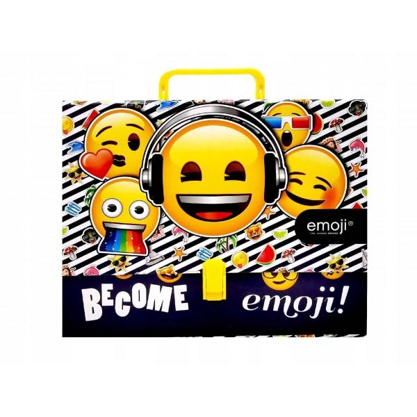 """Папка с ручкой А4 """"Emoji"""" Bambino"""