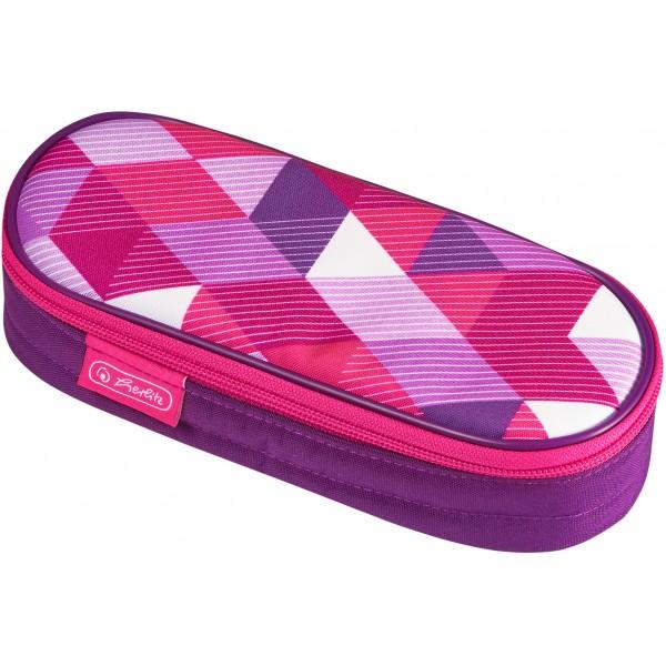 pouch case Pink Cubes