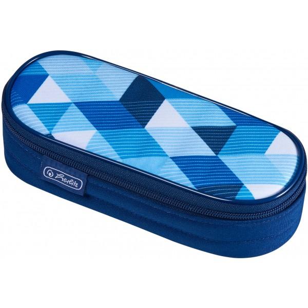 pouch case Blue Cubes