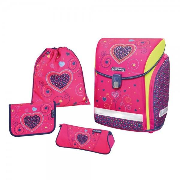 Midi Plus Pink Hearts