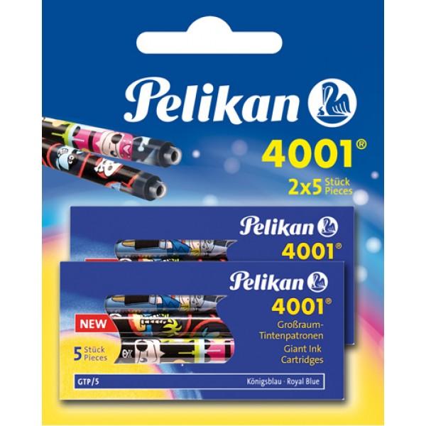 Чернильный баллончик Pelikan синий