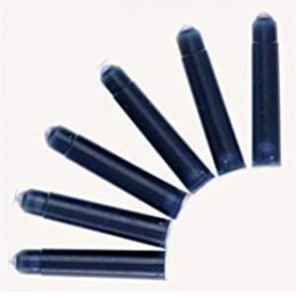 Чернильный баллончик Herlitz 100 шт. синий