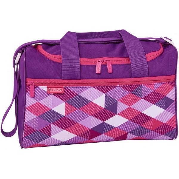 sports bag Pink Cubes