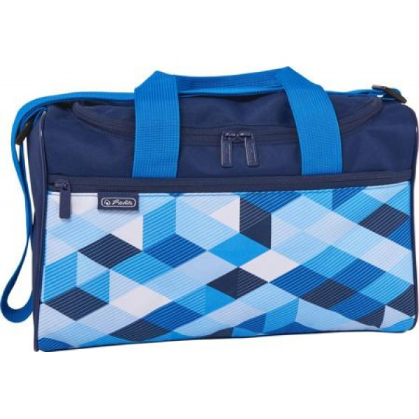 sports bag Blue Cubes