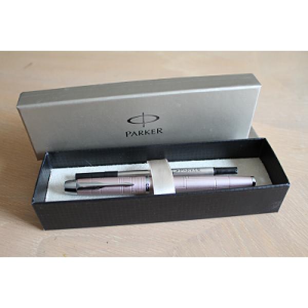 Ручка-роллер Parker IM Premium Metallic Pink