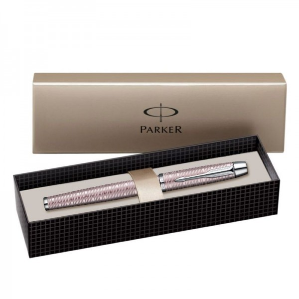 Ручка-роллер Parker IM Premium Pink Pearl