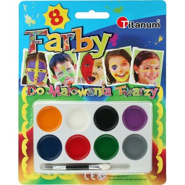 Краски для лица (8 цвет...
