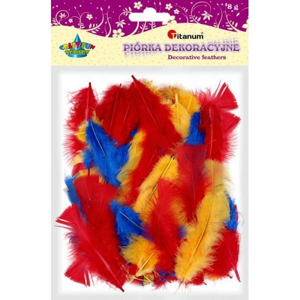 Декоративные перья