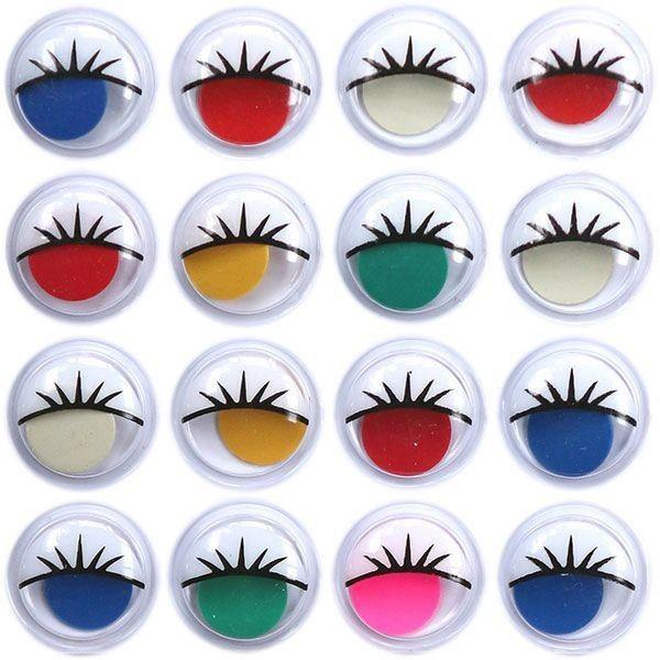 Цветные глазки